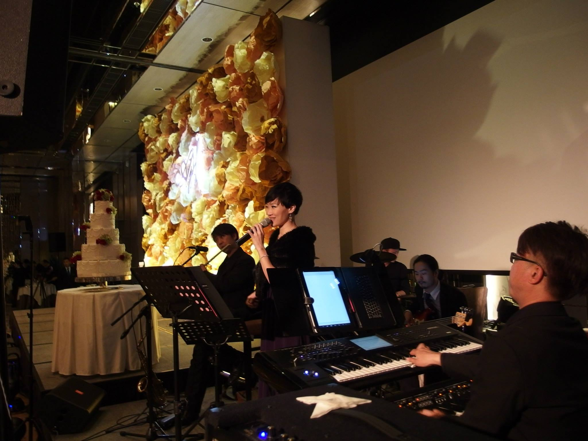 Unison Production Live Music band performance - Wedding Ceremony at Ritz Carlton