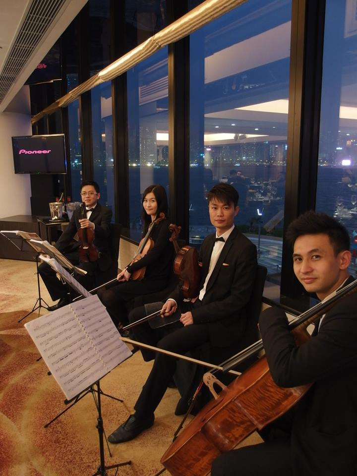 Unison Production Live Music band performance - Dinner reception at InterContinental Hong Kong