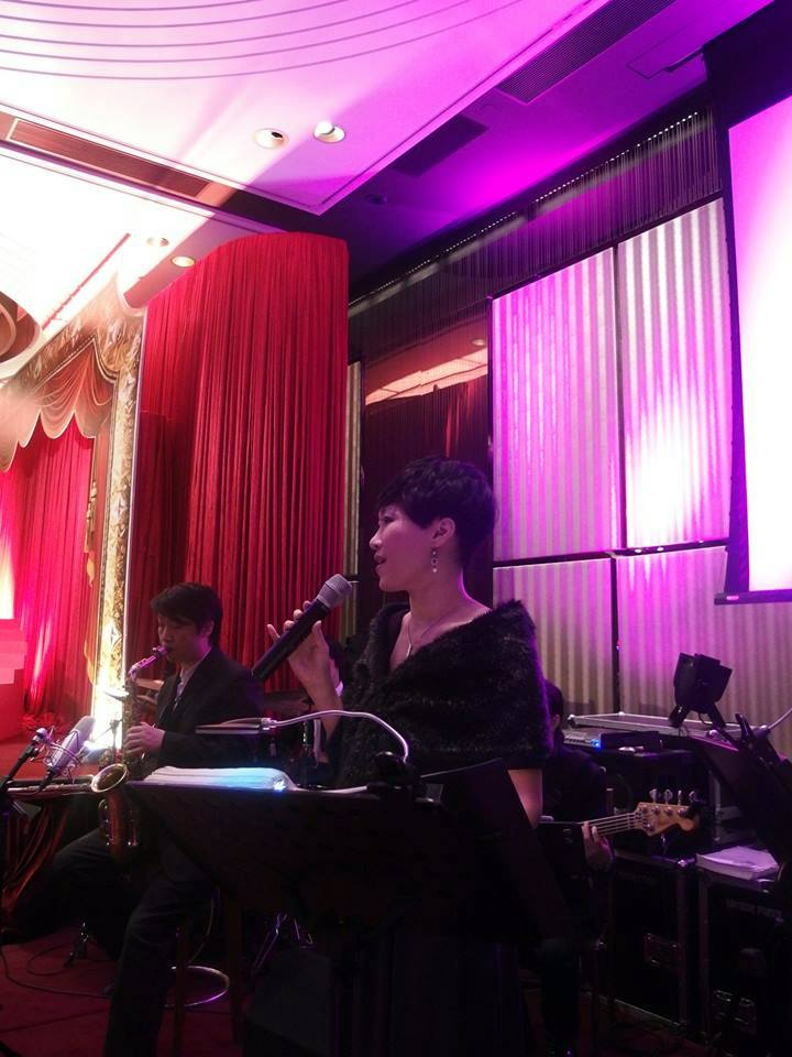 Unison Production Live Music band performance - Wedding Ceremony at InterContinental Hong Kong