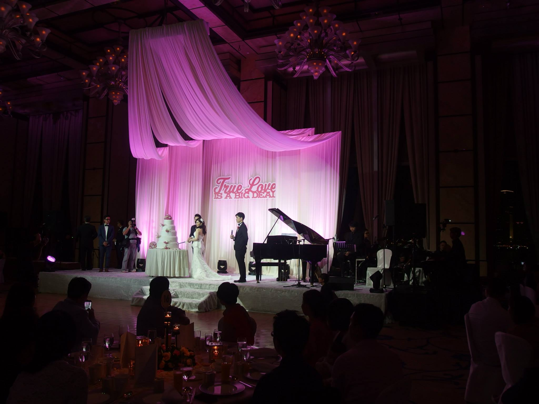 Unison Production Live Music band performance - Wedding Ceremony at Four Seasons Hotel Hong Kong