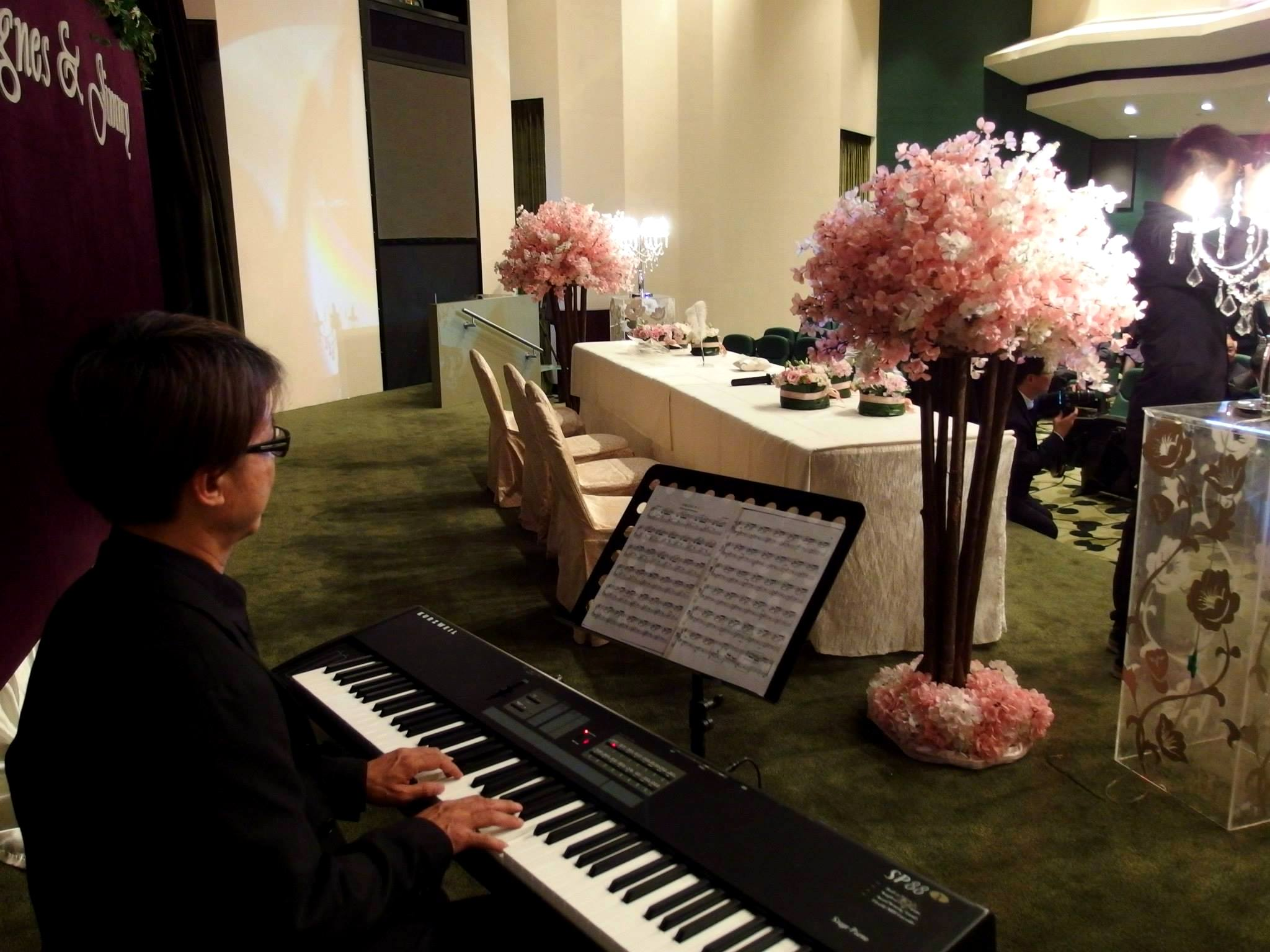 Unison Production Live Music band performance - Wedding Ceremony at Jockey Club