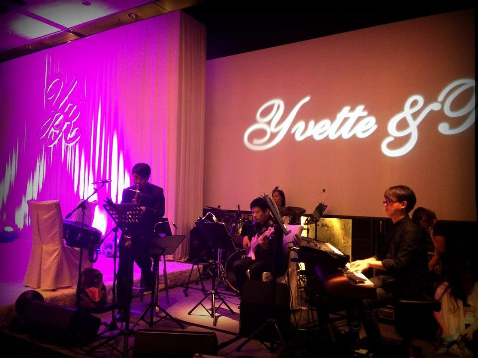 Unison Production Live Music band performance - Wedding Ceremony Sep14