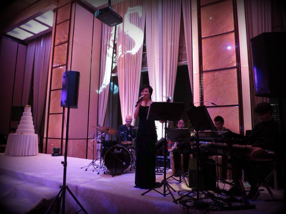 Unison Production Live Music band performance - Wedding Ceremony 11Oct14