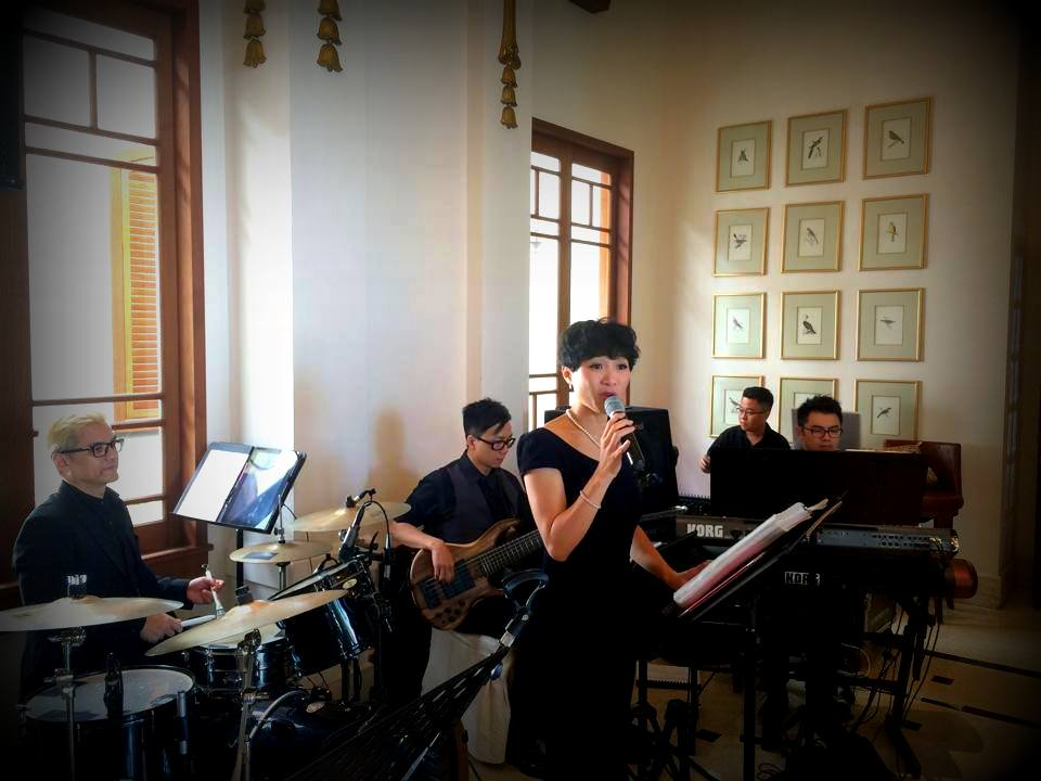 Unison Production Live Music band performance - Lunch reception at Verandah(The Repulse Bay Hong Kong)