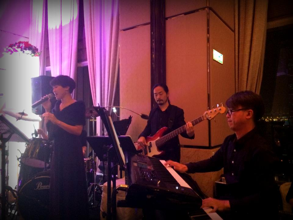 Unison Production Live Music band performance - Wedding Ceremony at Four Seasons Hotel Nov14