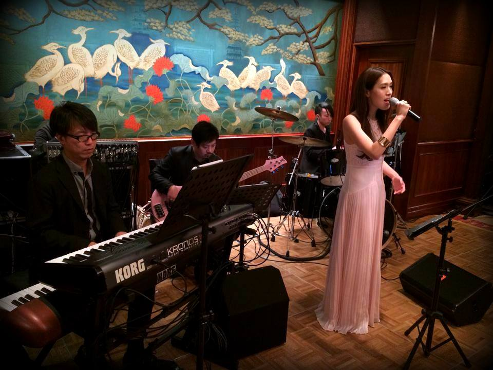Unison Production Live Music band performance - Anniverary dinner in Mandarin Oriental - Nov14