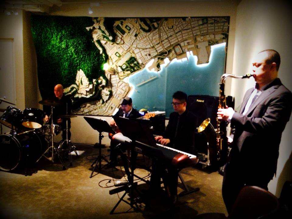 Unison Production Live Music band performance - Corporate event THE PAVILIA HILL 柏傲山 - Dec 14