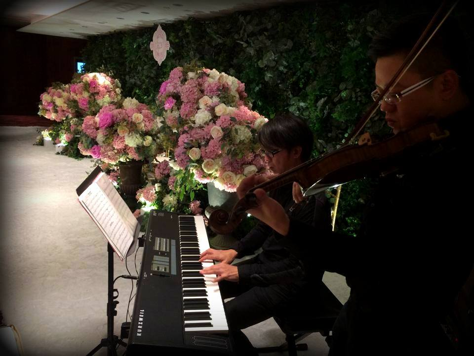 Unison Production Live Music band performance - Wedding Ceremony at Grand Hyatt - Dec14