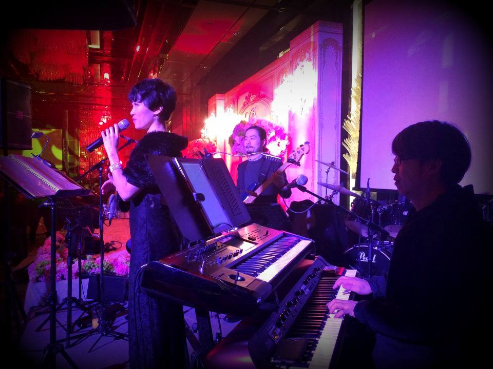 Unison Production Live Music band performance - Wedding Ceremony at Ritz Carlton - Jan15