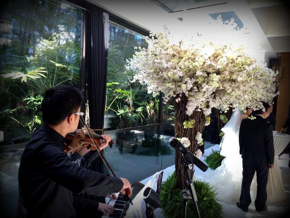 Unison Production Live Music band performance - Wedding in Grand Hyatt HK - Jan15