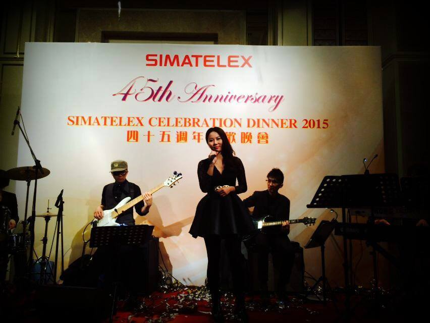 Unison Production Live Music band performance - Simatelex 45th Annual dinner in AMC - Jan15