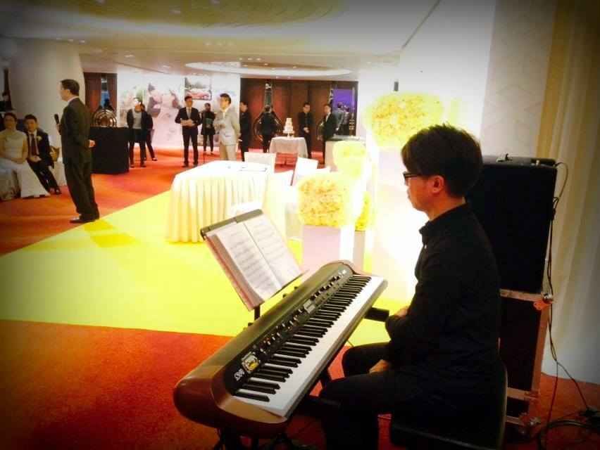 Unison Production Live Music band performance - Wedding in Intercontinental Hotel Jan15