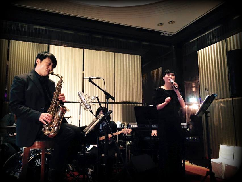 Unison Production Live Music band performance - Wedding in Intercontinental HK - Mar15