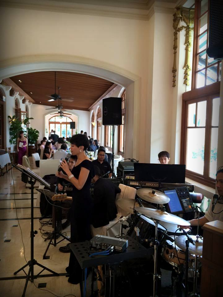 Unison Production Live Music band performance – Wedding ceremony (2 May 15)