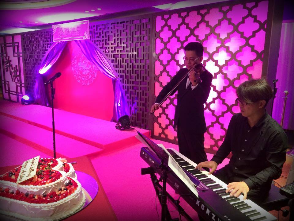Unison Production Live Music band performance – Wedding on Wedding on 8th May ,2015