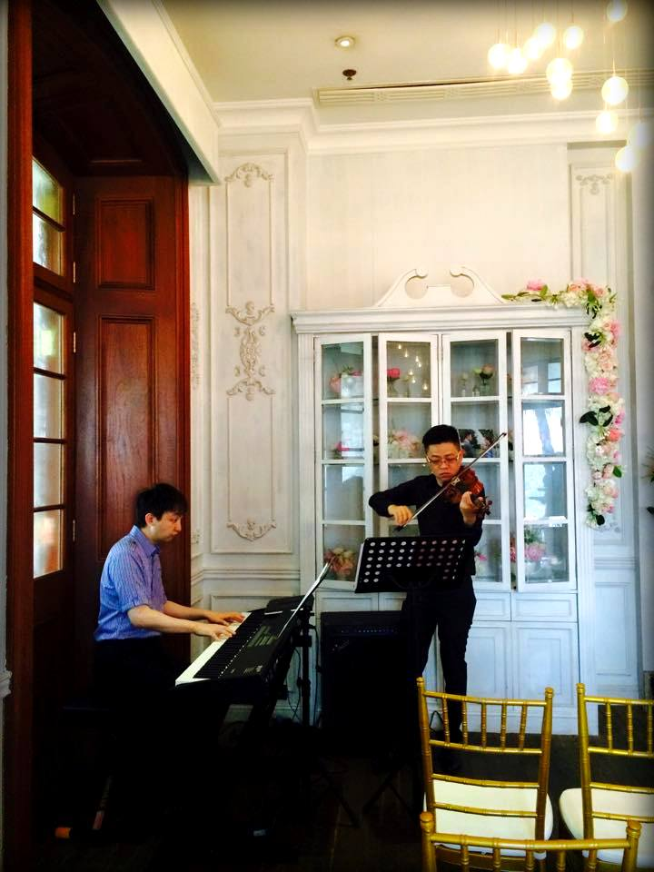 Unison Production Live Music band performance – Wedding Ceremony in 1881 Heritage (May2015)