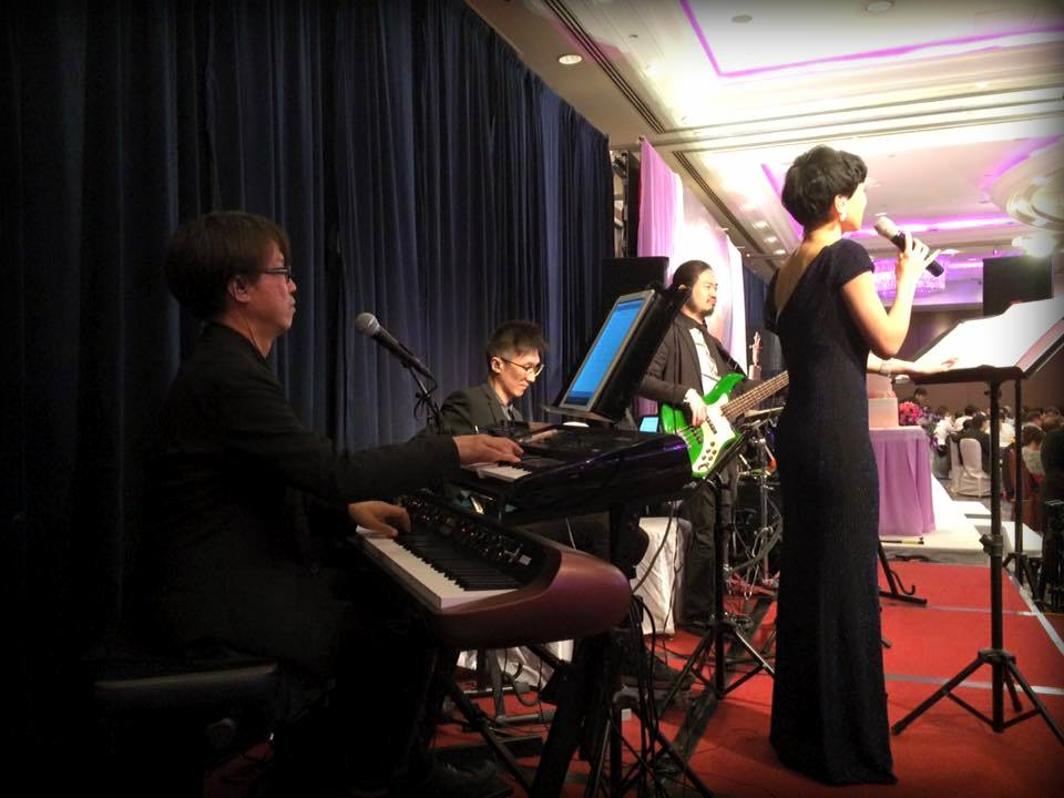 Unison Production Live Music band performance – Wedding ceremony 29May15