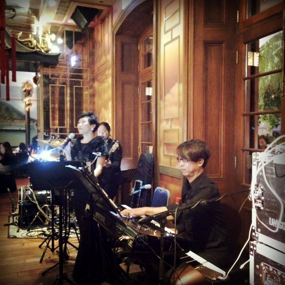 Unison Production Live Music band performance – Wedding ceremony in 1881 Jun15