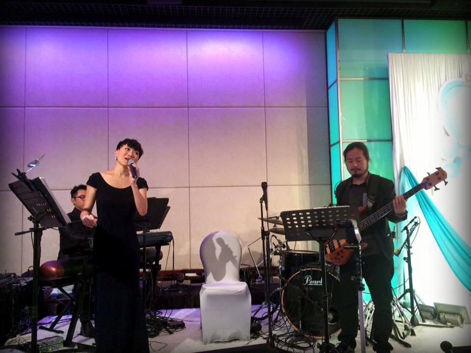 Unison Production Live Music band performance – Wedding (15Jun15)