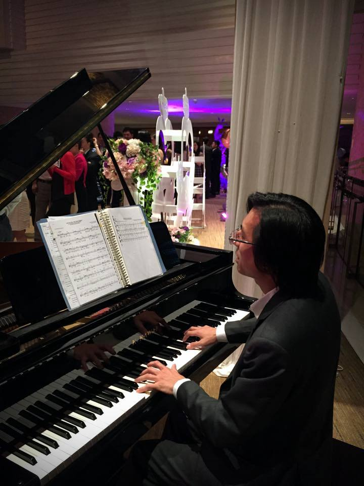 Unison Production Live Music band performance - Wedding in Four Seasons Hotel