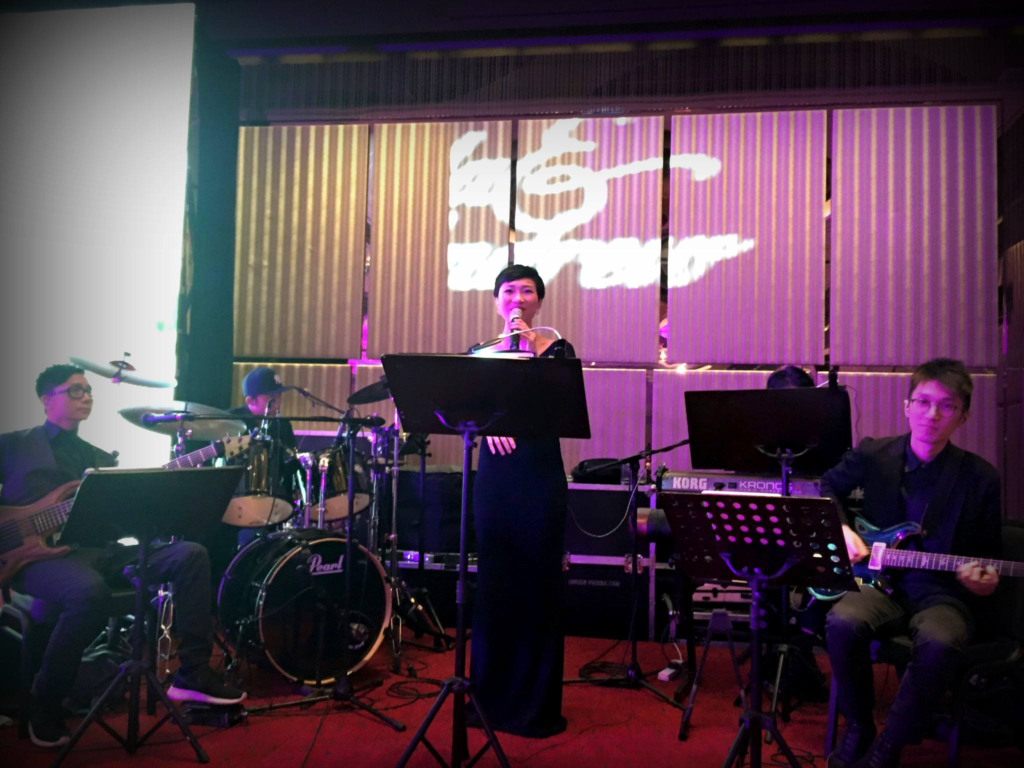 Unison Production Live Music band performance - Wedding in Intercontinental Hotel Hong Kong HK - 25 Oct , 2015