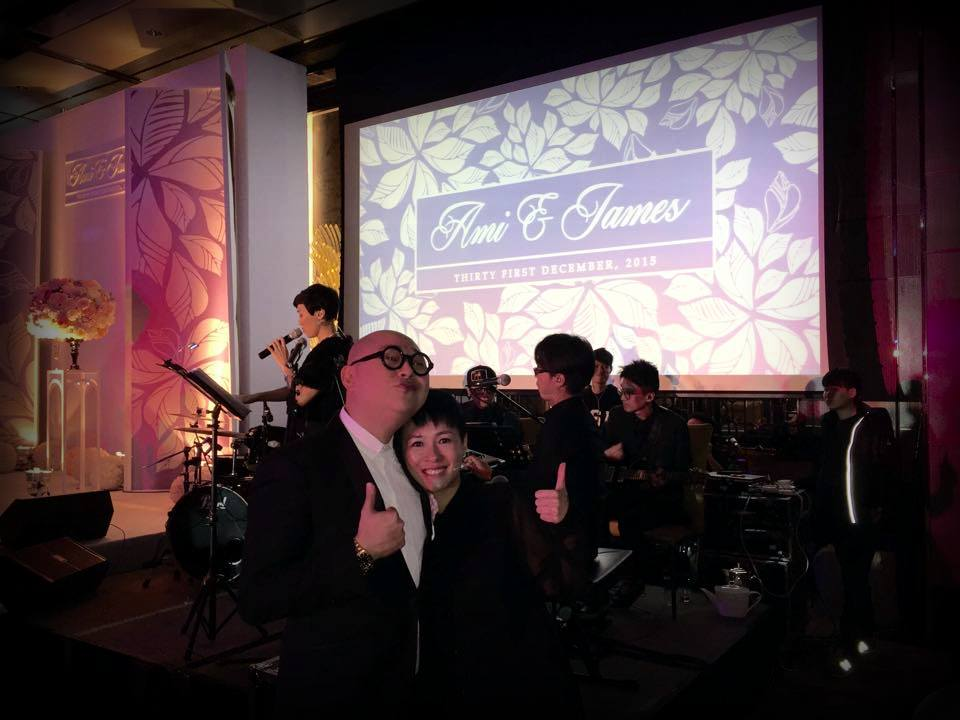 Unison Production Live Music band performance - Wedding in Ritz Carlton (Dec2015)