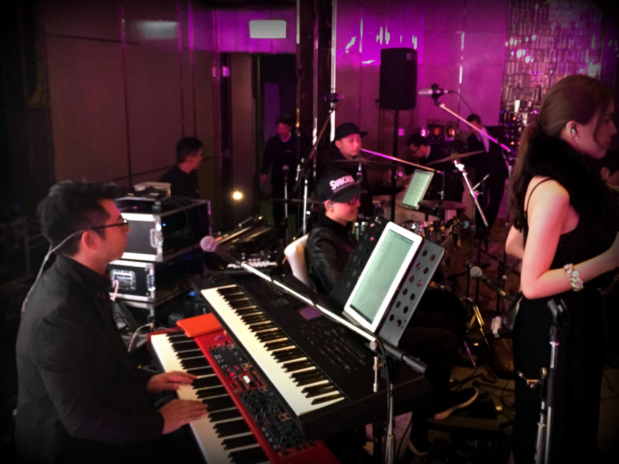 Unison Production Live Music band performance - Wedding in Ritz Carlton (Jan2016)