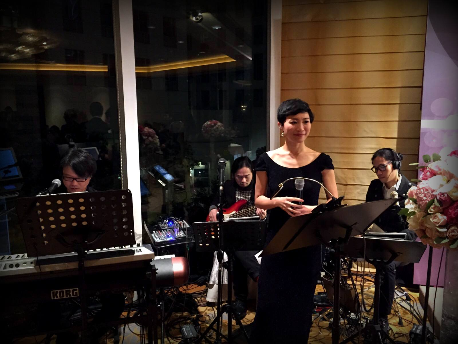 Unison Production Live Music band performance - Wedding in Conrad Hotel (Jan2016)