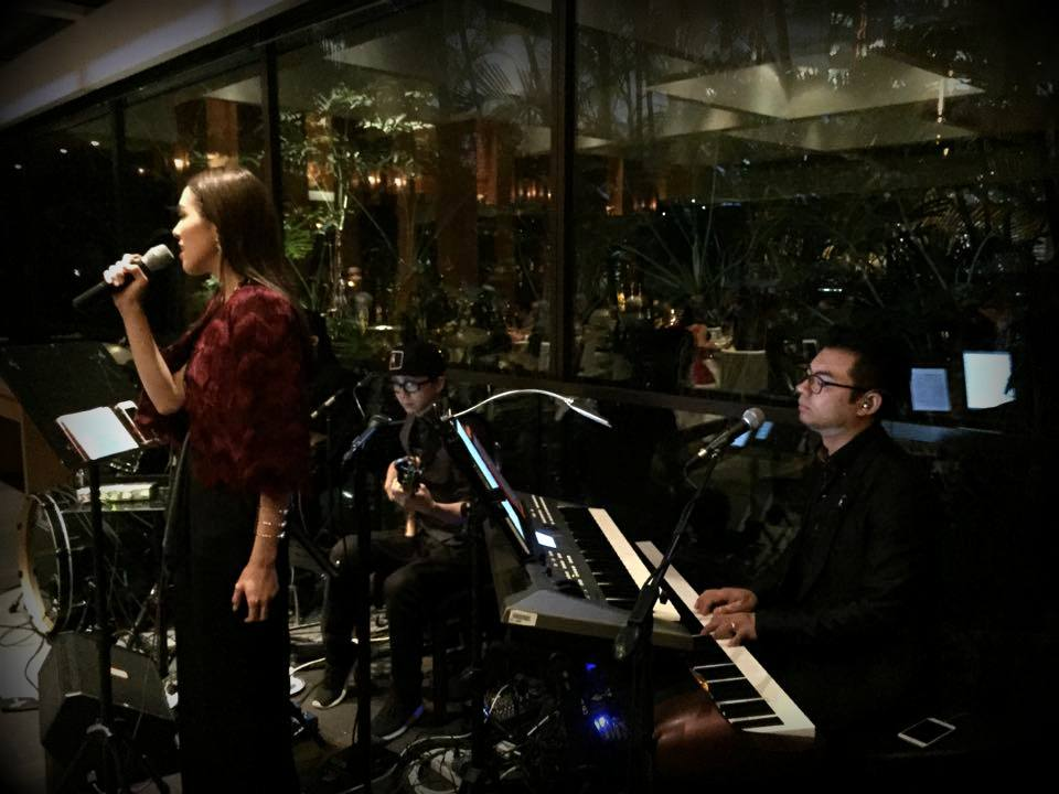 Unison Production Live Music band performance - Wedding in Grand Hyatt Hotel, Jan2016