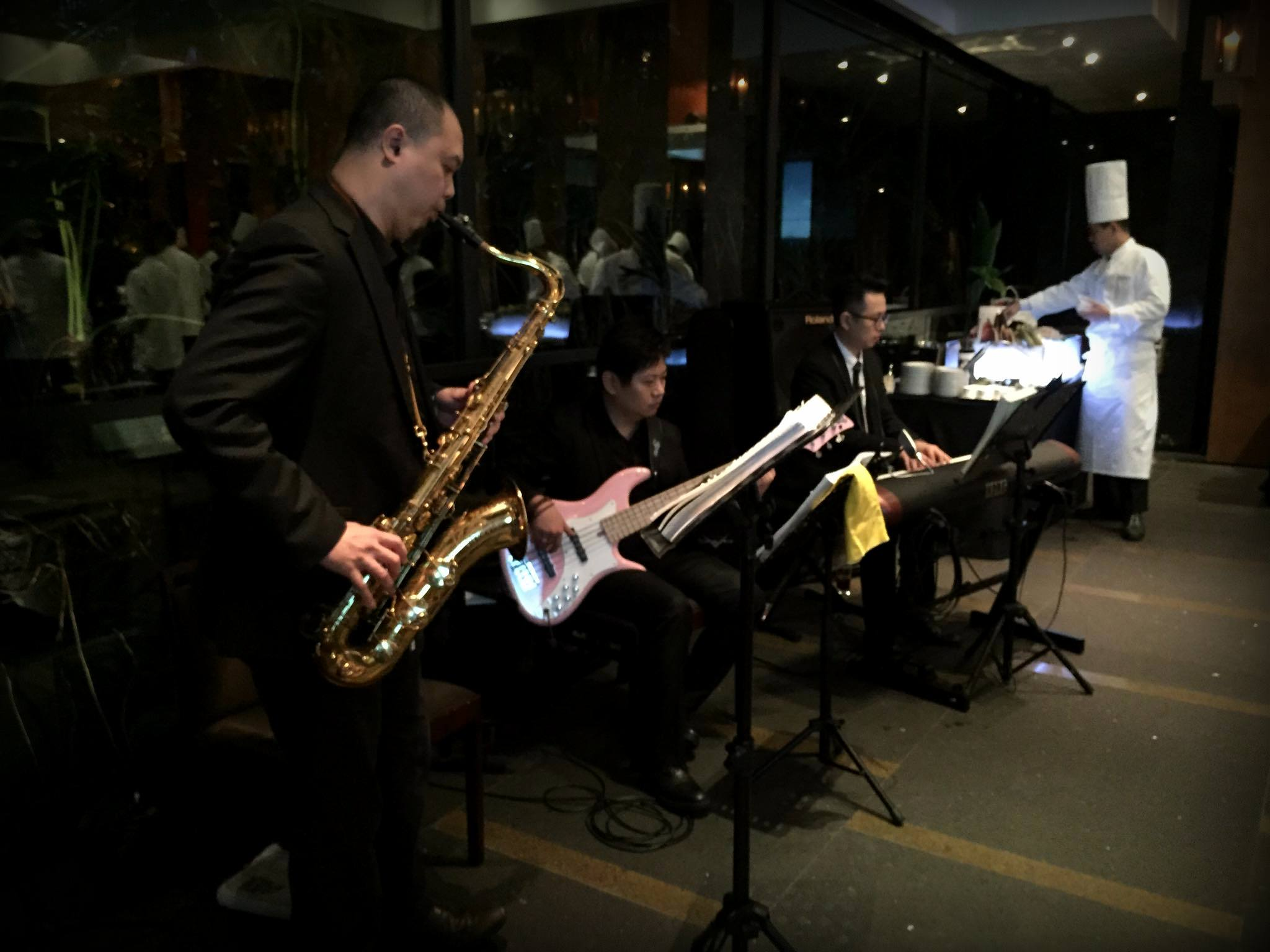 Unison Production Live Music band performance - Corporate event in Grand Hyatt Hotel, Jan2016