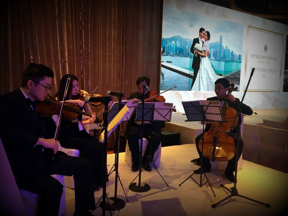 Unison Production Live Music band performance - Intercon Wedding showcase 2016