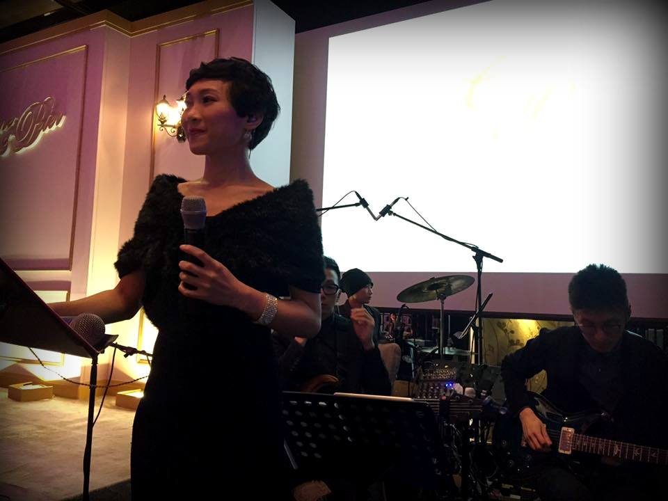 Unison Production Live Music band performance - Wedding dinner in Ritz Carlton hotel, May2016