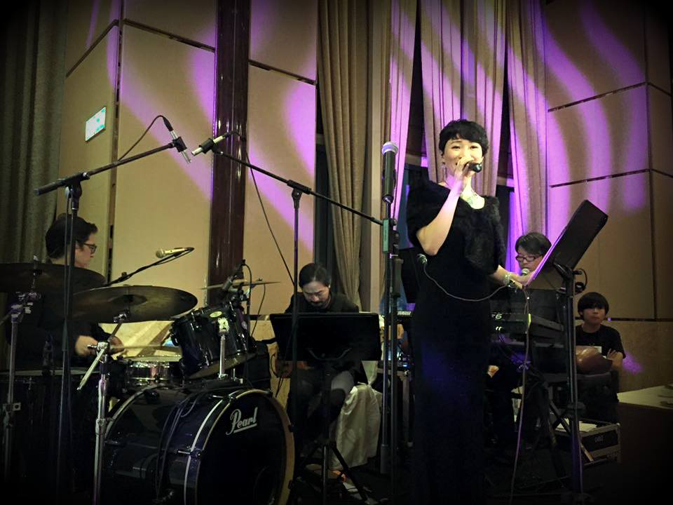 Unison Production Live Music band performance - Wedding dinner, May2016