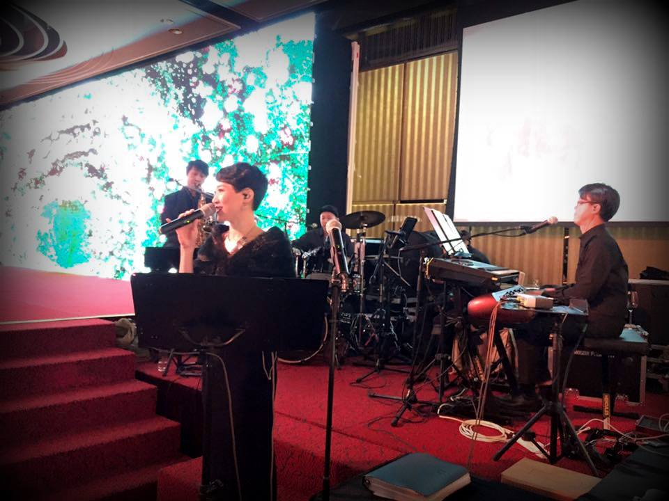Unison Production Live Music band performance - Wedding in Intercontinental hotel, May2016