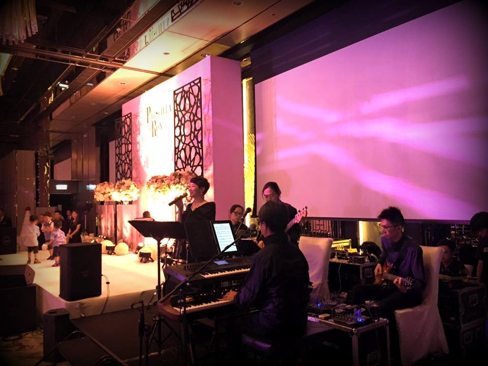 Unison Production Live Music band performance - Wedding in Ritz Carlton Hotel, Jun2016