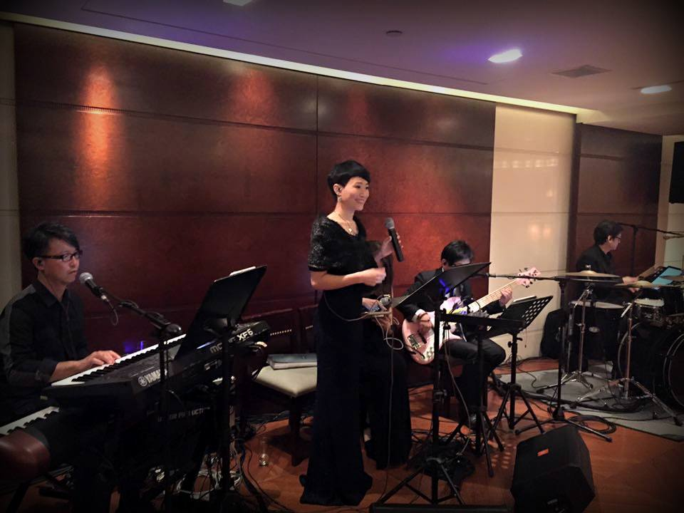 Unison Production Live Music band performance - Sir Dickson Poon Birthday party 2016