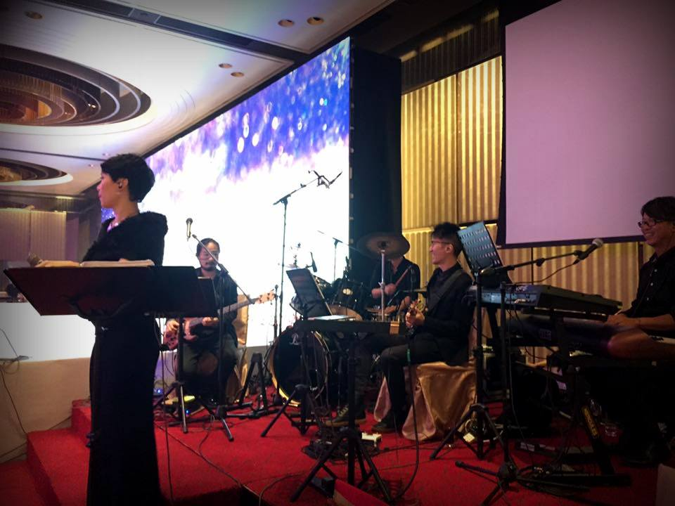 Unison Production Live Music band performance - Wedding in Intercon, Jul2016