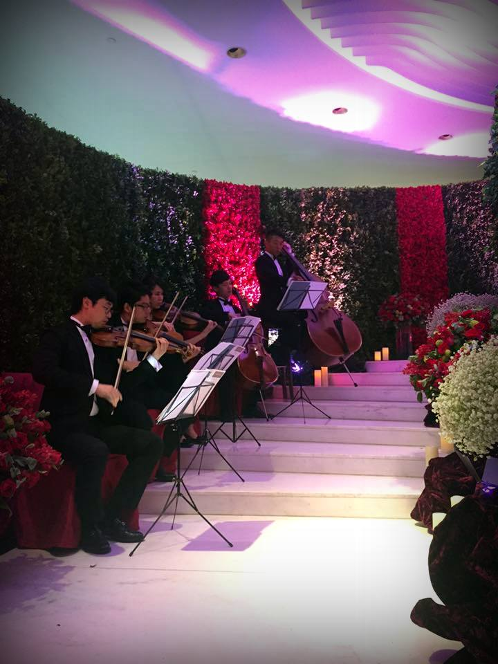 Unison Production Live Music band performance - Wedding in Intercon, 3Jul2016