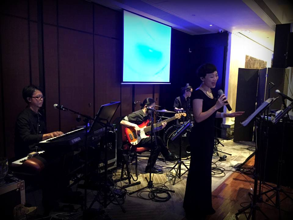 Unison Production Live Music band performance - Wedding in HK Country Club, Jul2016