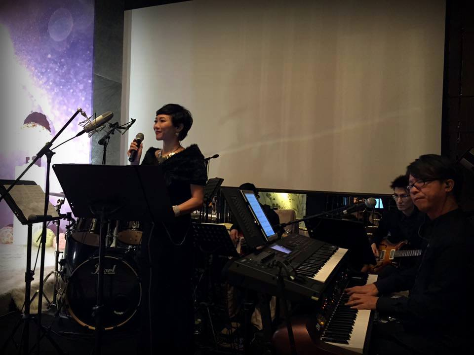 Unison Production Live Music band performance - Wedding in Ritz Carlton, Jul2016