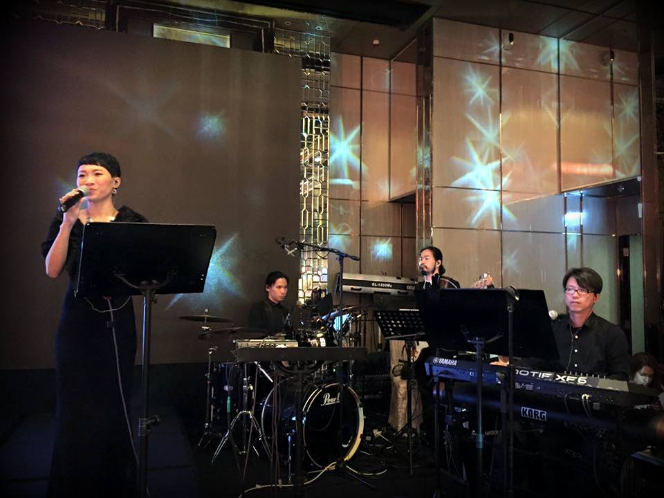 Unison Production Live Music band performance - Great performance in Ritz Carlton, Aug2016