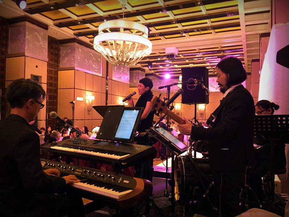 Unison Production Live Music band performance - Wedding in Four Seasons Hotel (Oct2016)