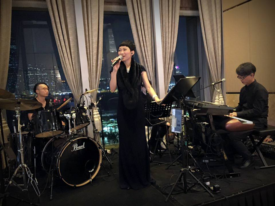 Unison Production Live Music band performance - Wedding in Four Seasons hotel (Oct16)