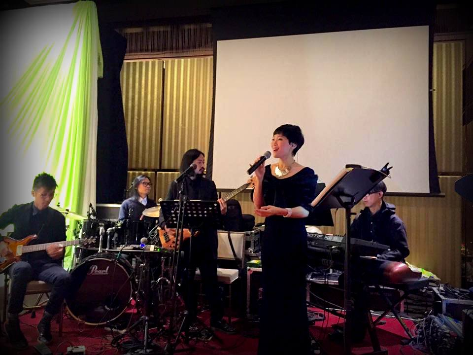 Unison Production Live Music band performance - Wedding in Intercon (Dec 2016)