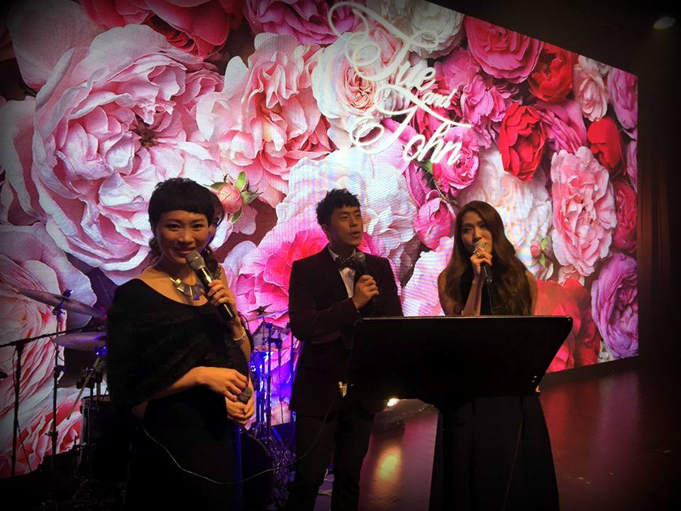 Unison Production Live Music band performance – Wedding (Miss Sue Chang)