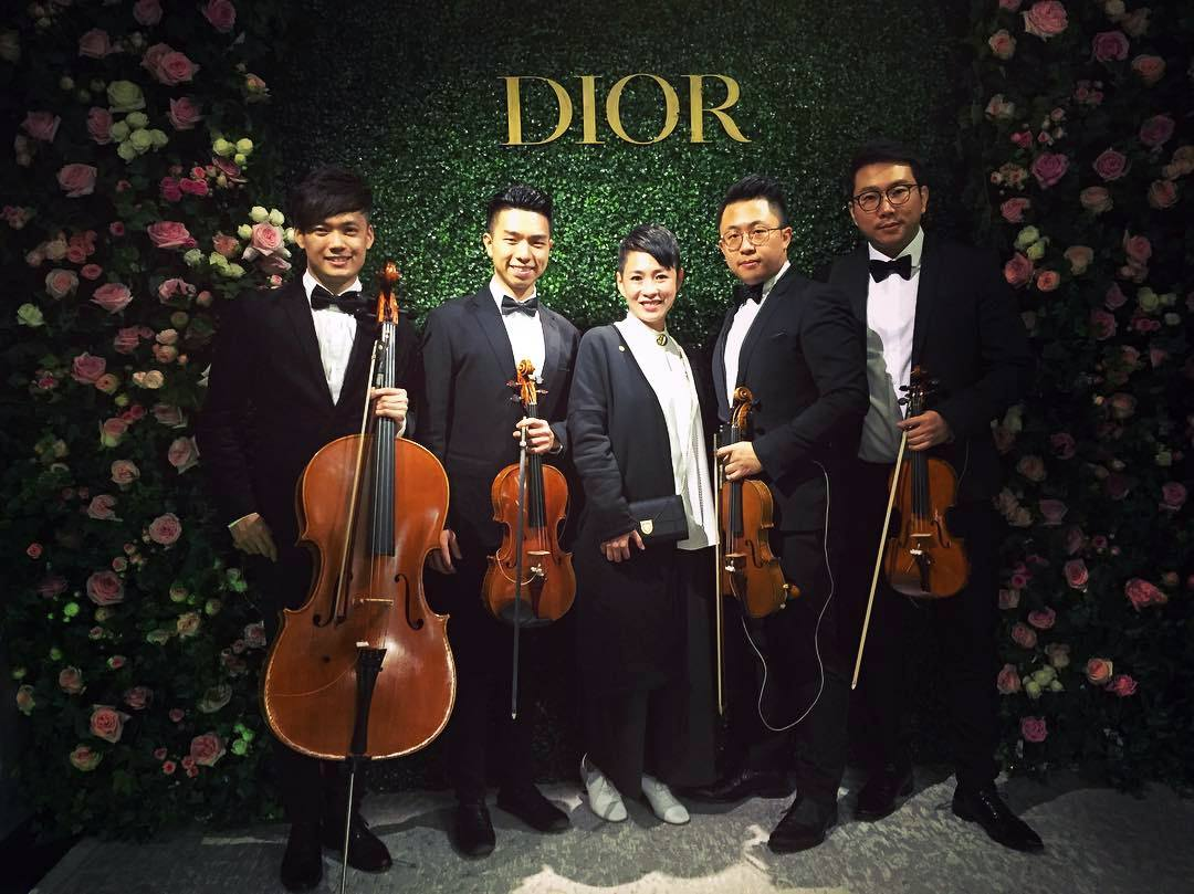 Unison Production Live Performance - Christian Dior event