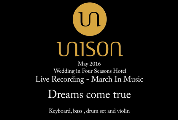 Dreams come true – Live Recording March in music