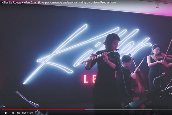 Killer Le Rouge x Alan Chan (Live performance and programming by Unison Production)