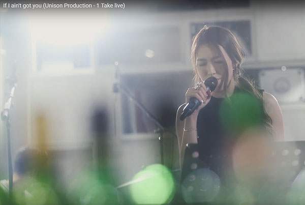 If I ain't got you – Unison Production 1take LIVE